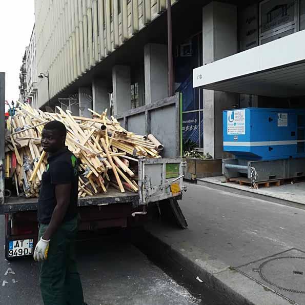 Débarras/Collecte déchets industriels bois