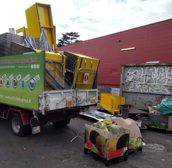 Débarras/Collecte déchets industriels