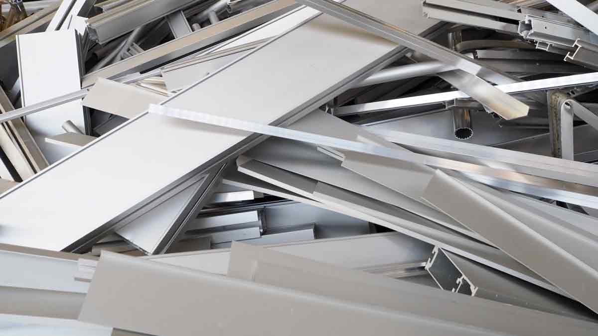 débarras récuperation aluminium