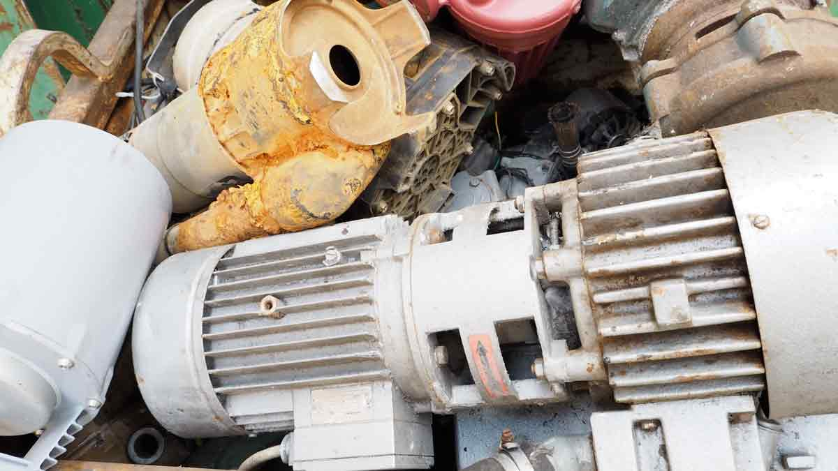 débarras récuperation moteurs électriques