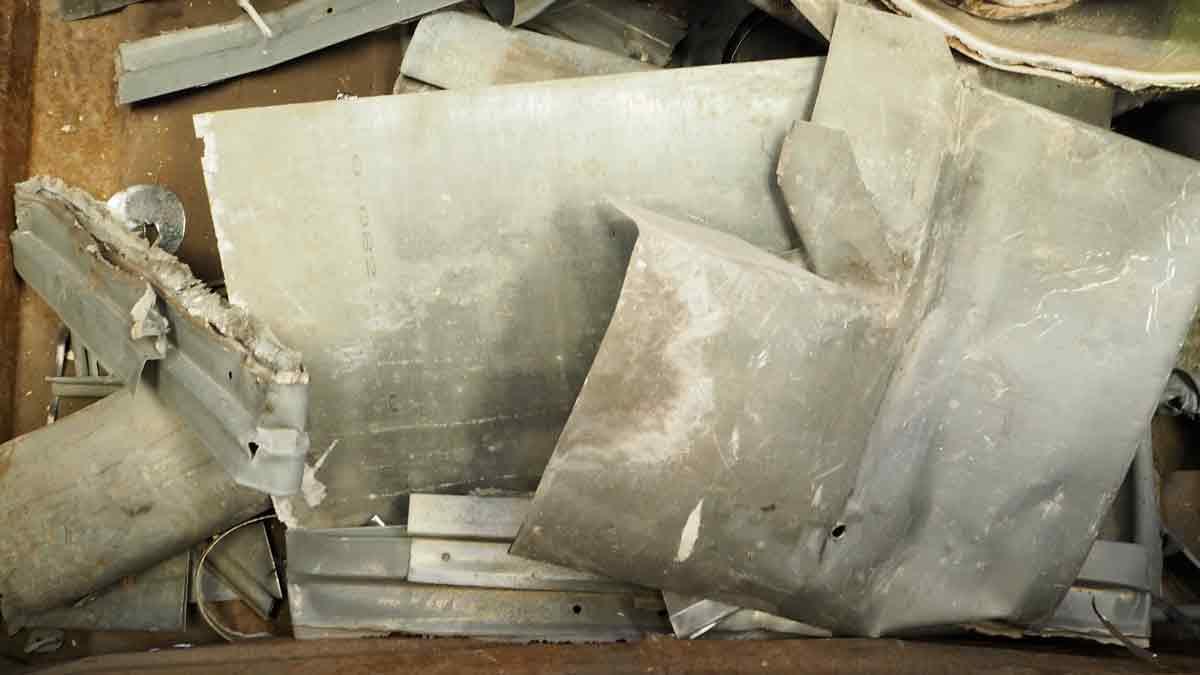 débarras récuperation zinc